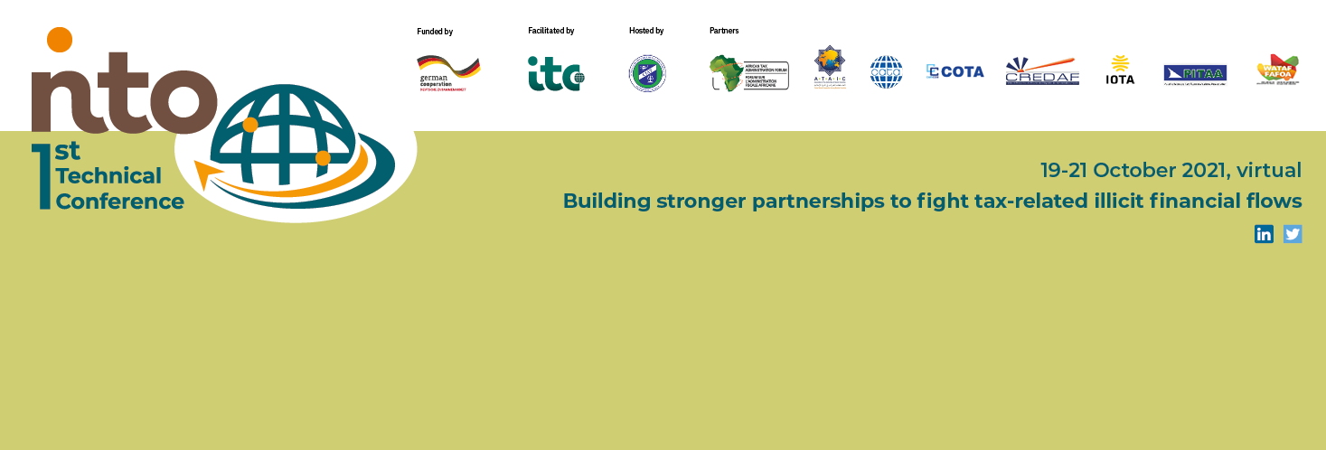 1st NTO Technical Conference - Building stronger partnerships to fight tax-related Illicit Financial Flows