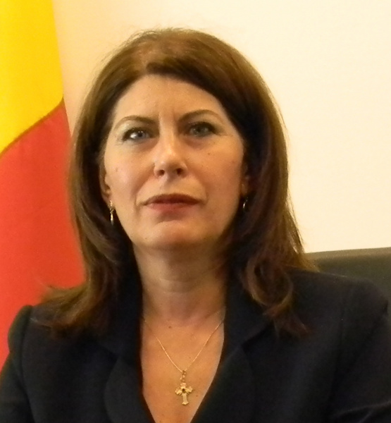 Ms. Mirela Călugăreanu President of the National Agency for Fiscal Administration of Romania